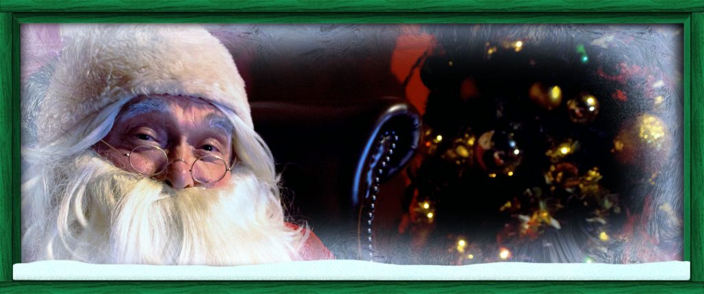 Come and meet Father Christmas only at Farmer Ted's Adventure Farm's Farmer Christmas Experience